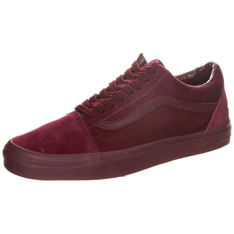 VANS Old Skool Sneaker in bordeaux