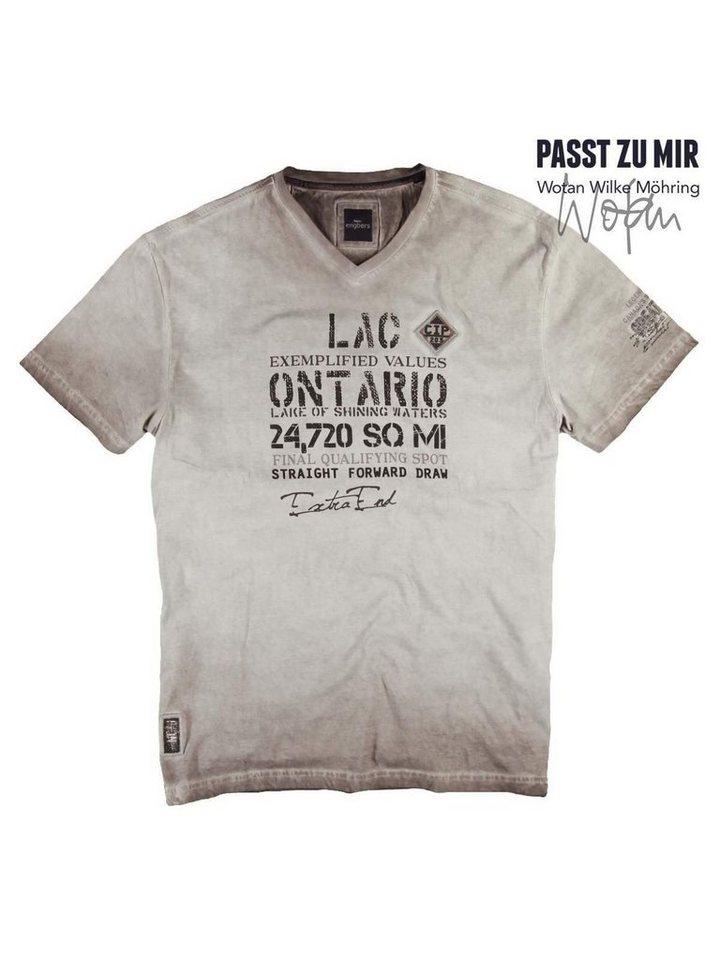 engbers T-Shirt in Braunbeige
