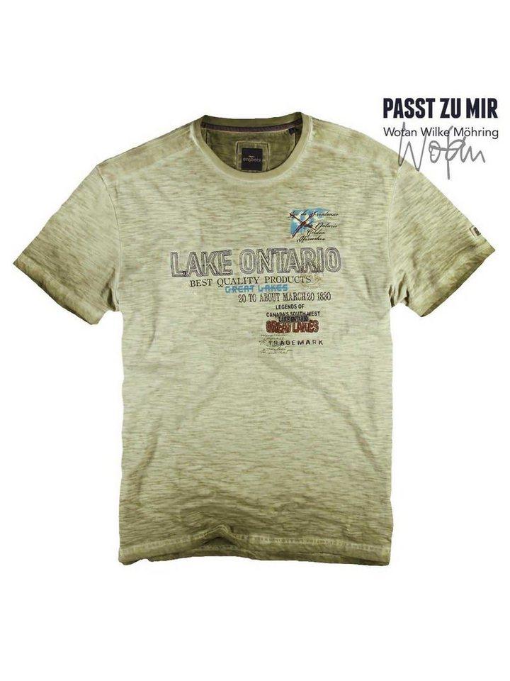 engbers T-Shirt in Blassgrün
