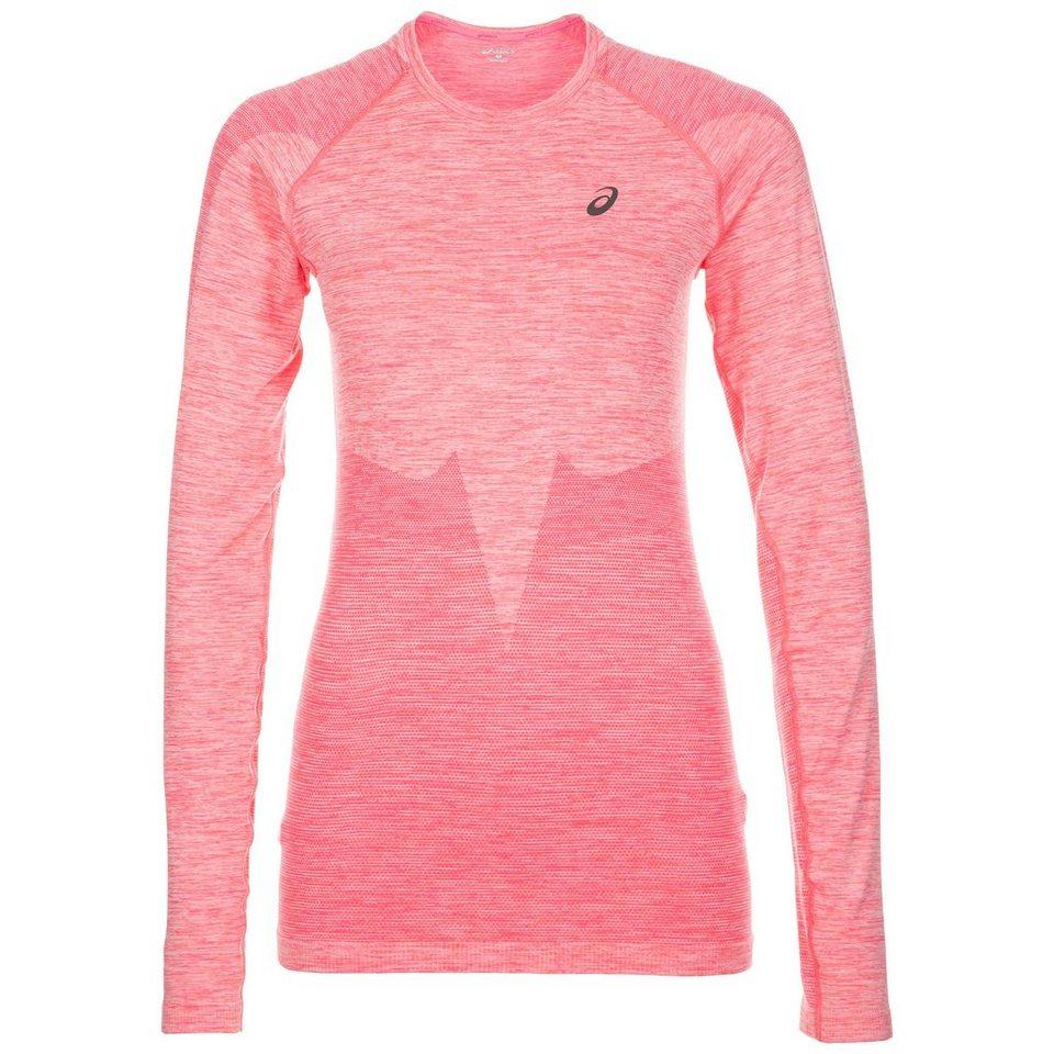 ASICS Seamless Laufshirt Damen in pink