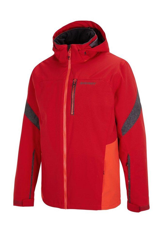 Ziener Jacke »TROCKET man (jacket ski)« in red pop.new red