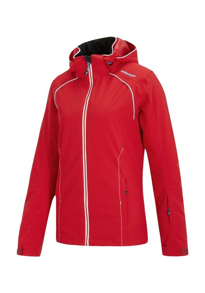 Ziener Jacke »TEILA lady (jacket ski)« in red pop
