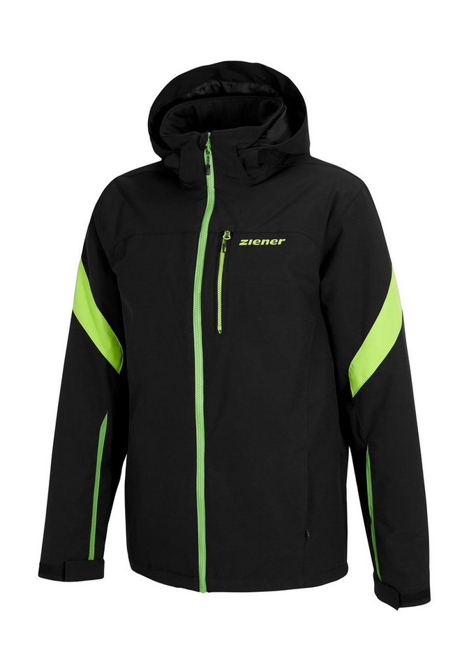 Ziener Jacke »TROCKET man (jacket ski)« in black