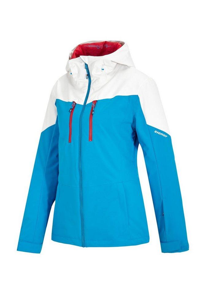 Ziener Jacke »TAMBURA lady (jacket ski)« in blue sky