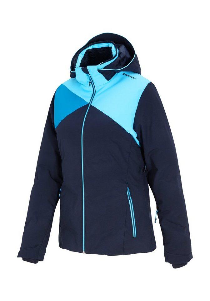 Ziener Jacke »TATIKI lady (jacket ski)« in blue navy