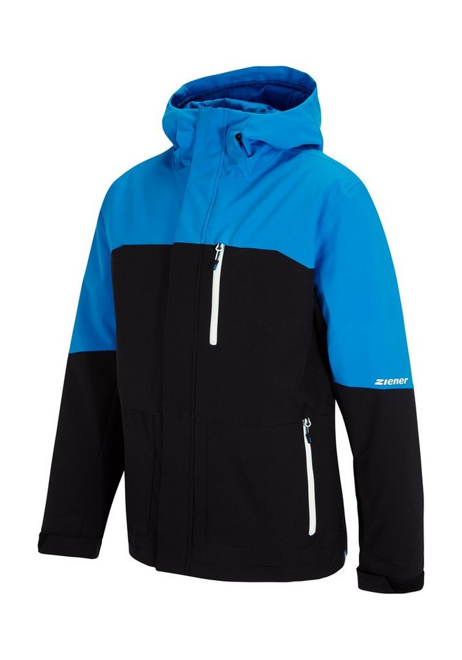Ziener Jacke »TUJO man (jacket ski)« in black