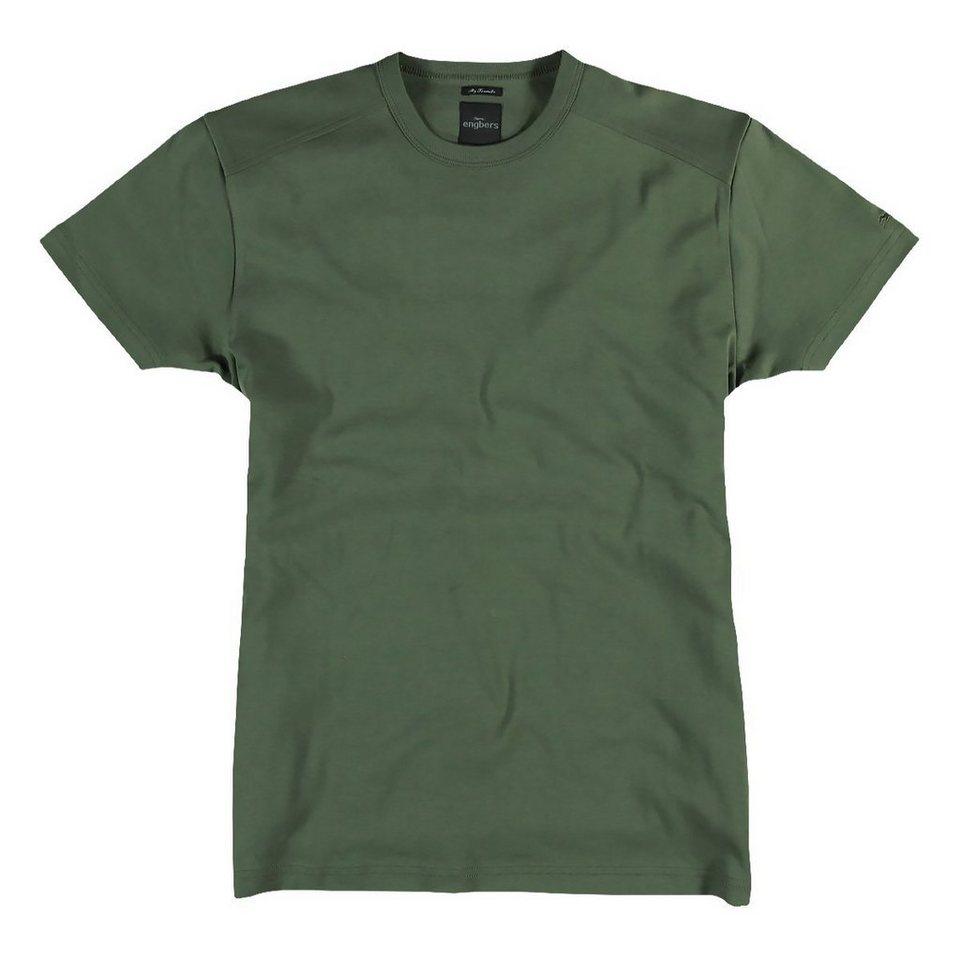 engbers T-Shirt in Tannengrün