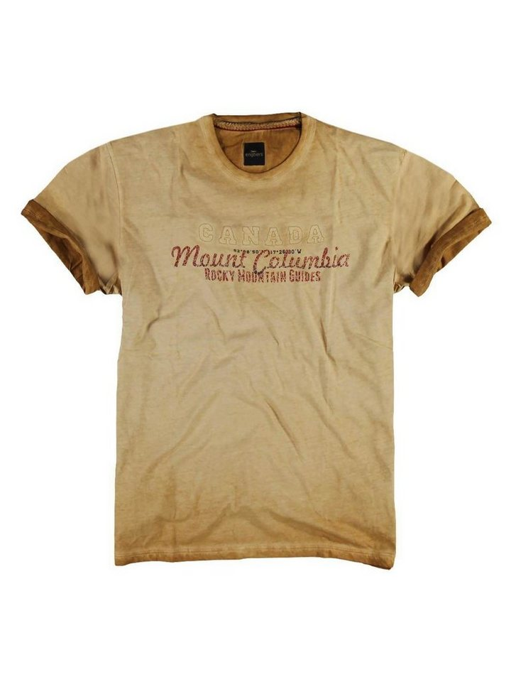 engbers T-Shirt in Currygelb