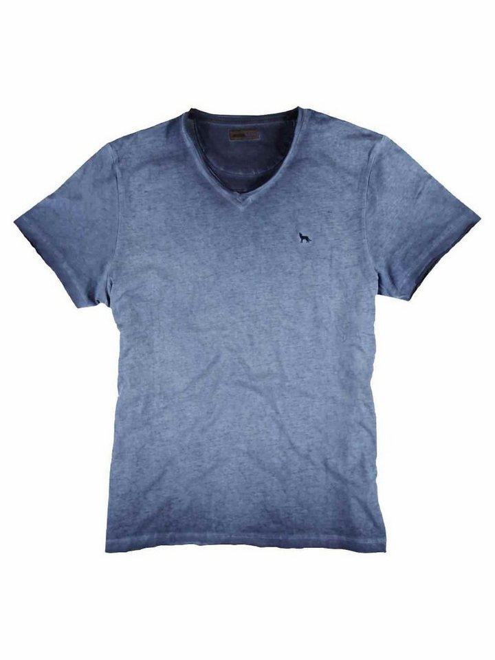 emilio adani T-Shirt in Taubenblau