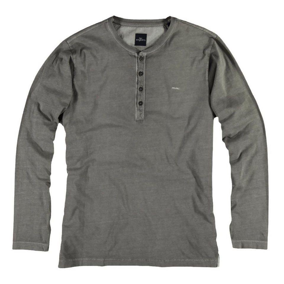 engbers T-Shirt in Stahlgrau