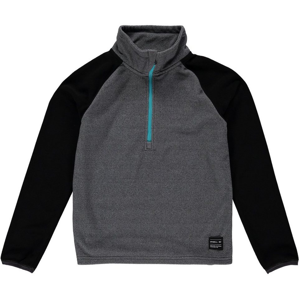 O'Neill Fleecejacke »Rails Half Zip« in Grau