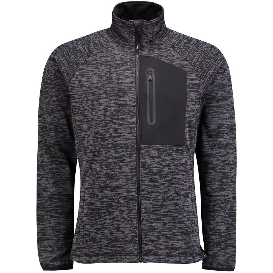 O'Neill Fleecejacke »Infinate Full Zip« in Schwarz
