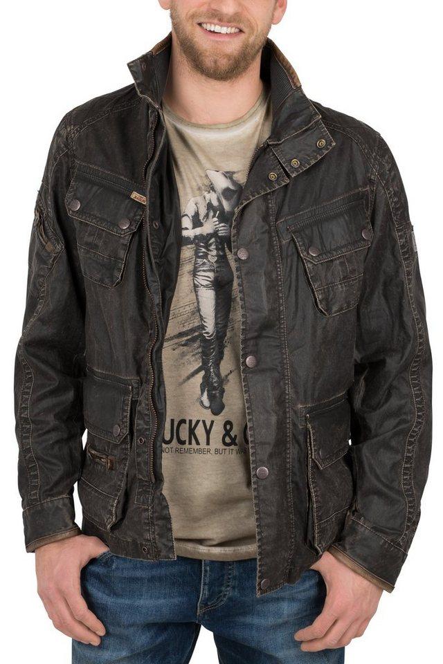 NAGANO Fieldjacket »YURAI« in brown