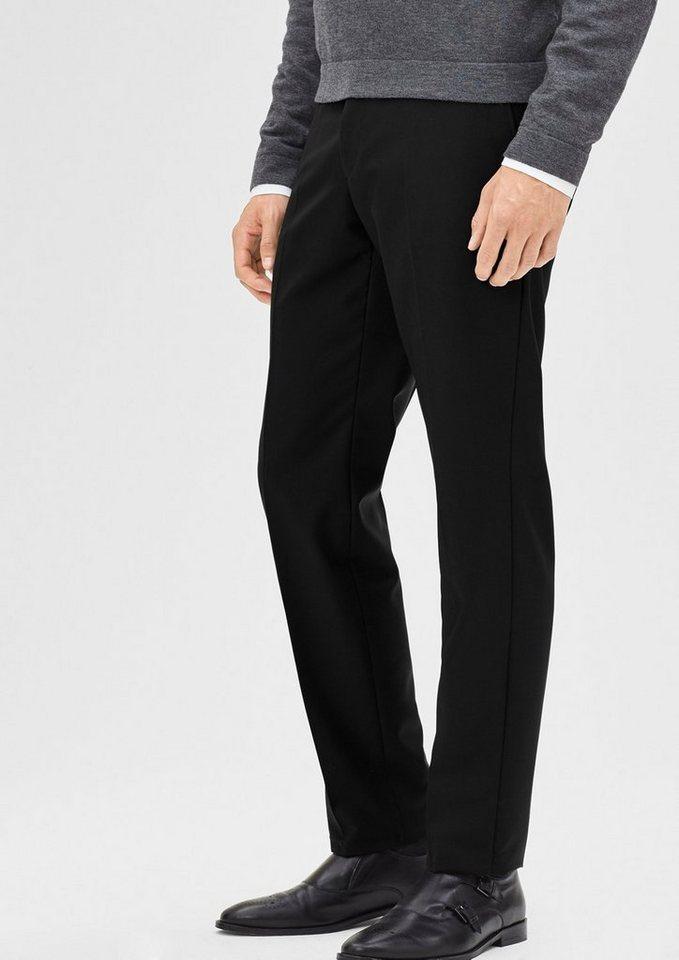 s.Oliver BLACK LABEL Regular: Anzughose aus reiner Schurwolle in black