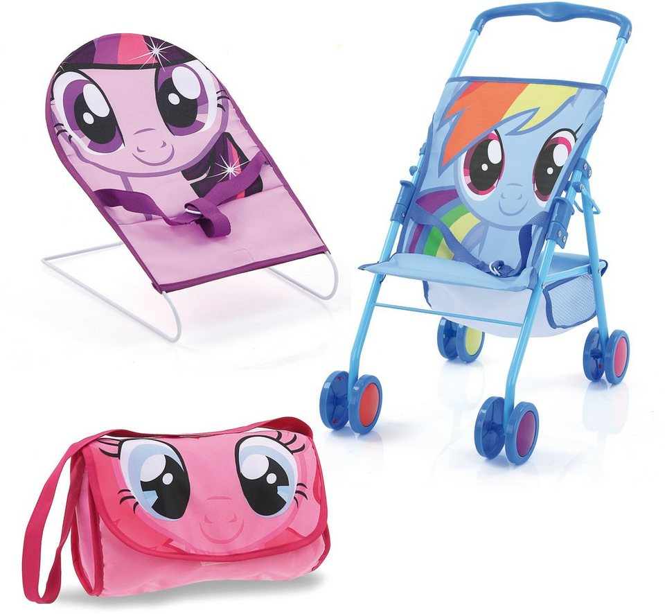 hauck TOYS FOR KIDS Puppenzubehör-Set 3tlg., »Friendship Set, My Little Pony«
