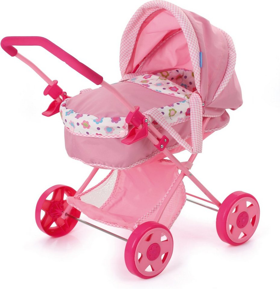 hauck TOYS FOR KIDS Puppenwagen, »Diana, Spring Pink« in rosa