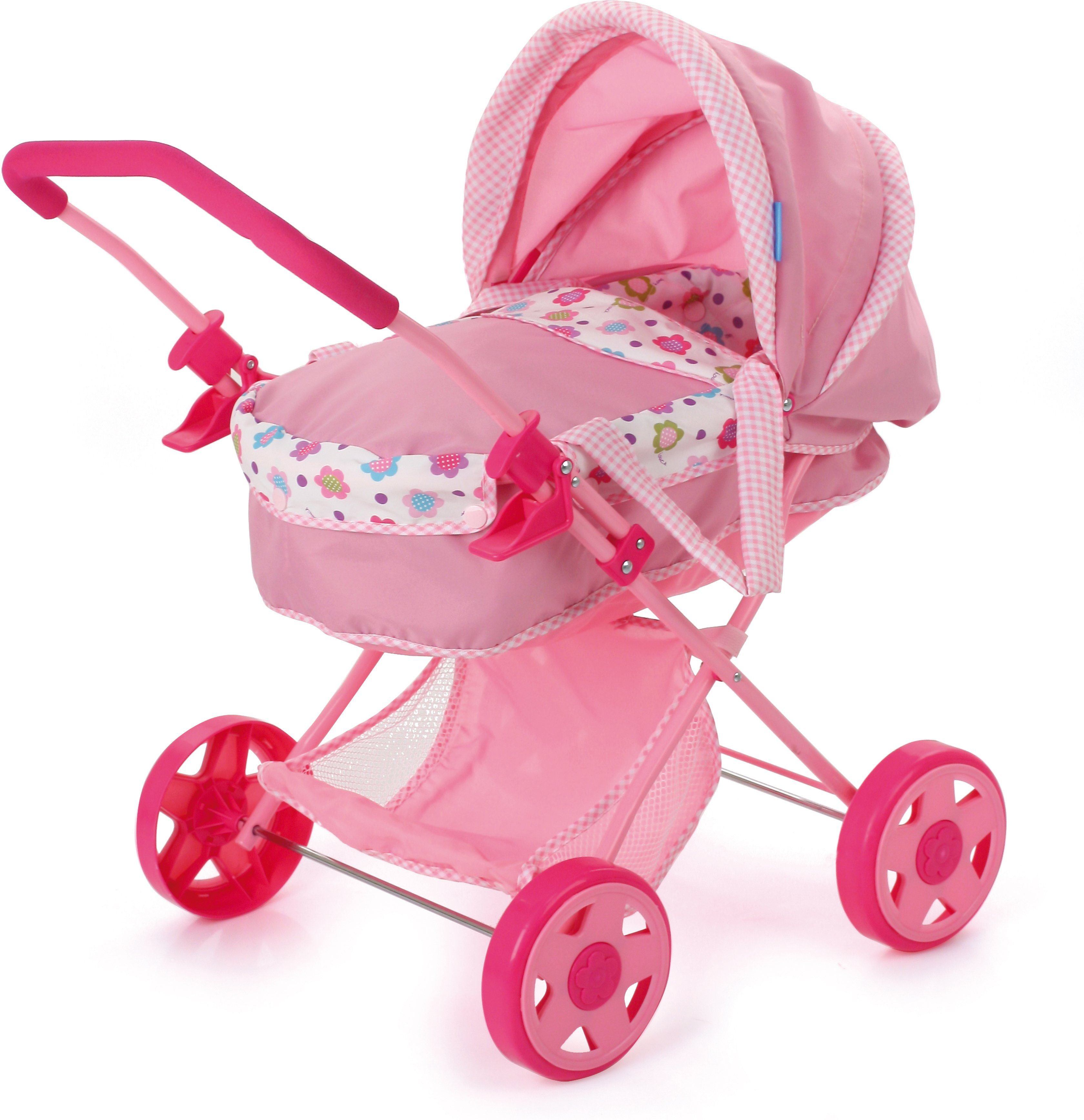 hauck TOYS FOR KIDS Puppenwagen, »Diana, Spring Pink«
