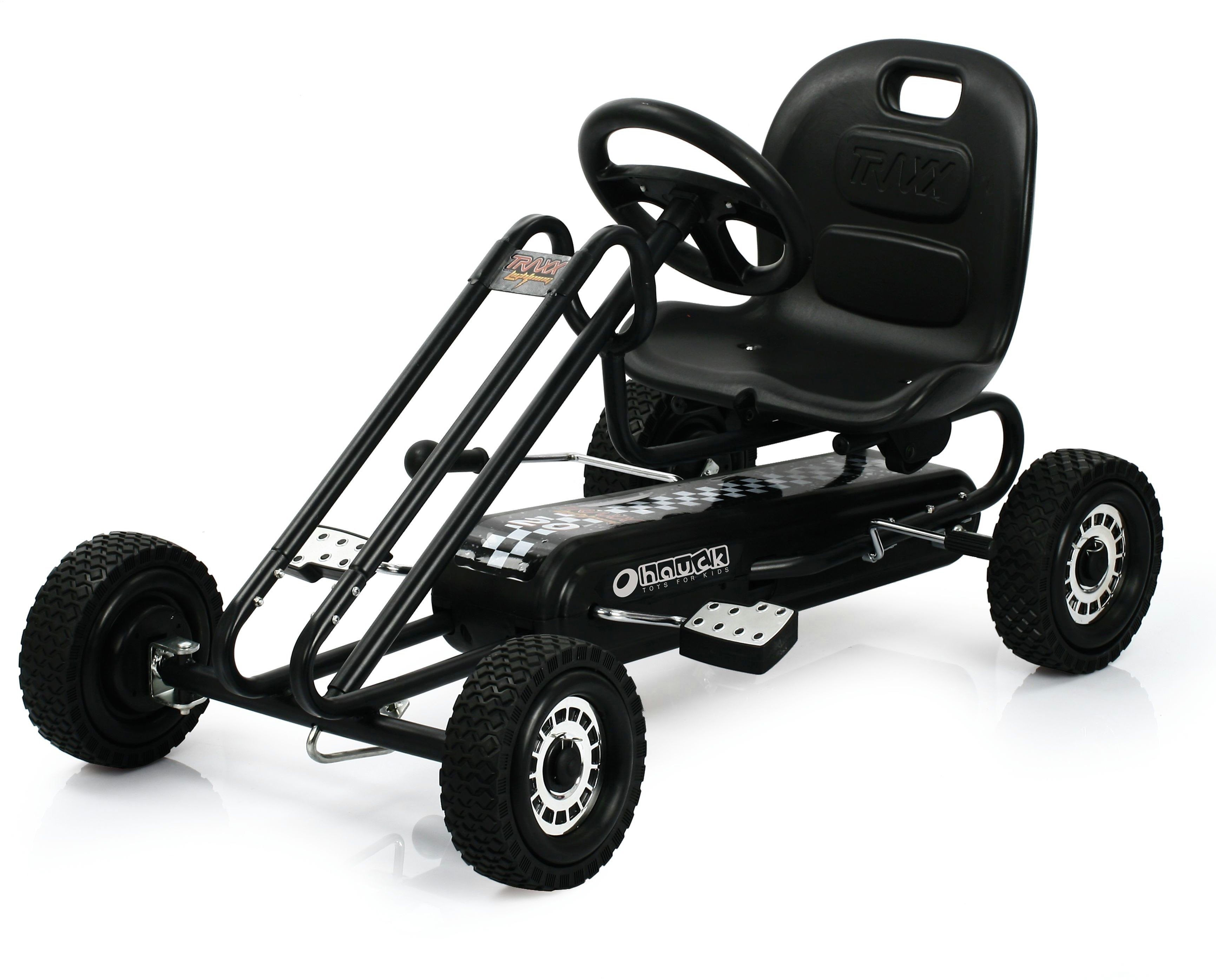 hauck TOYS FOR KIDS Go-Kart, »Lightning, Titan Black«