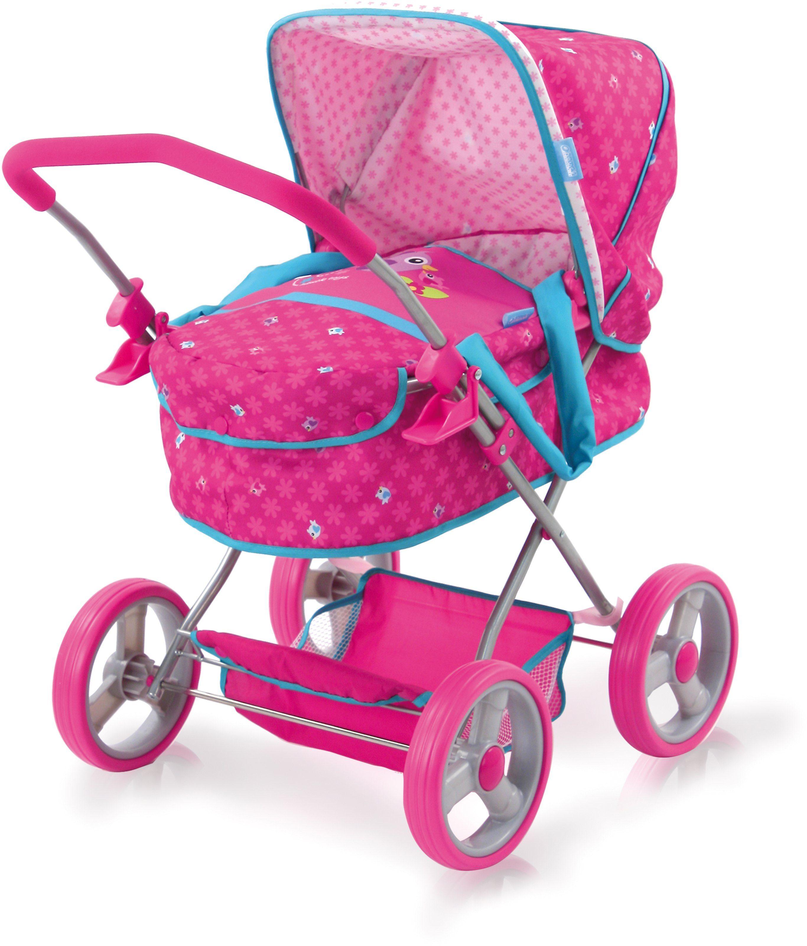 hauck TOYS FOR KIDS Puppenwagen, »Gini, Birdie Pink«