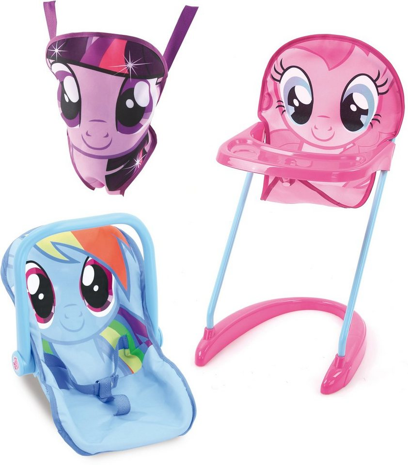 hauck TOYS FOR KIDS Puppenzubehör-Set 3tlg., »Magic Set, My Little Pony«
