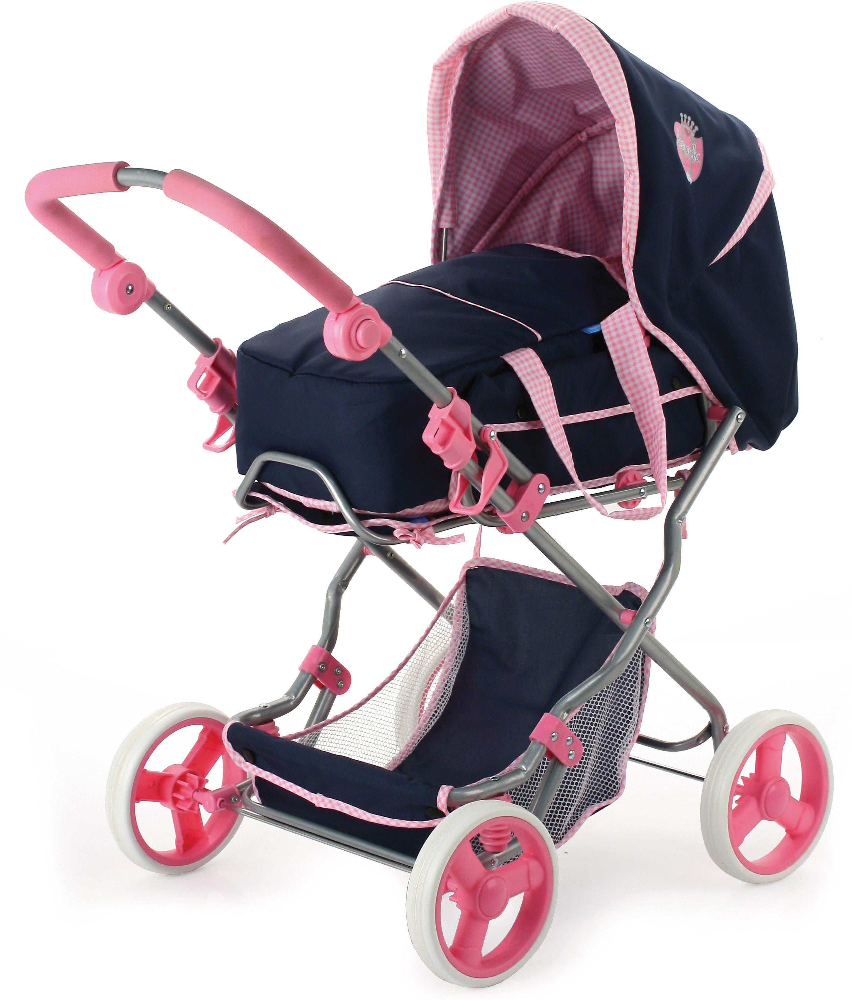 Puppe Kinderwagen Joggen Buggy Ausziehbarer Schiebegriff Für Kinder Kleinkind Babypuppen & Zubehör