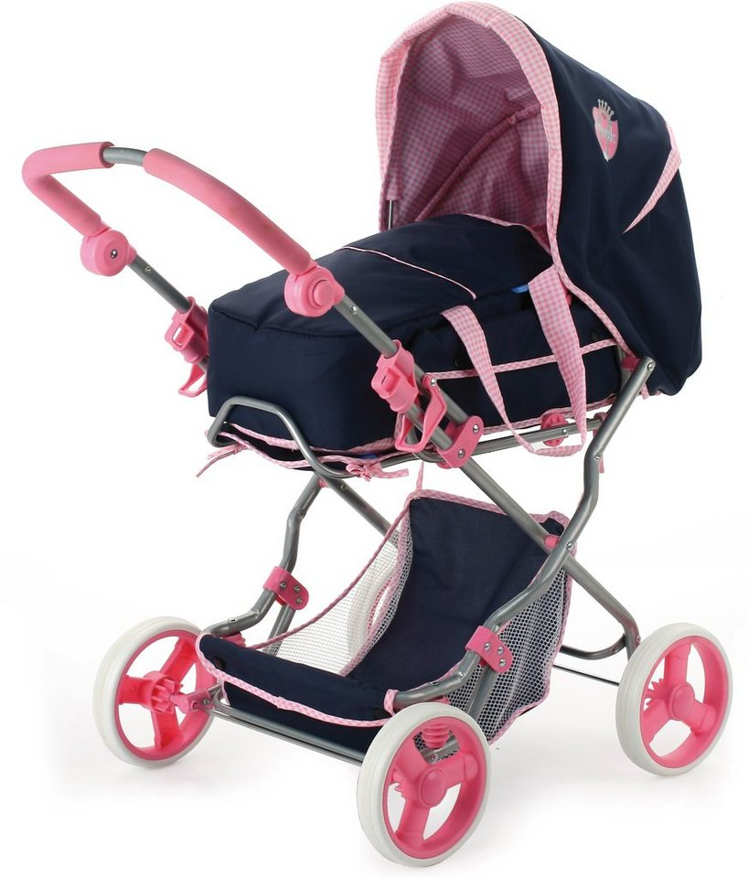 hauck TOYS FOR KIDS Puppenwagen, »Julia, Classic Navy« in blau