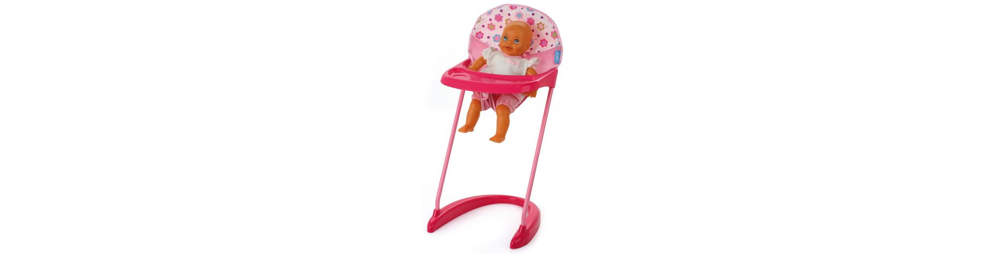 hauck TOYS FOR KIDS Puppenhochstuhl, »High Chair, Spring Pink«