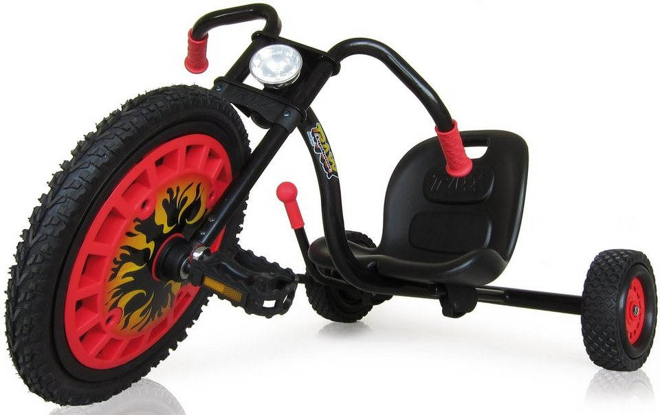 hauck TOYS FOR KIDS Dreirad, »Typhoon, Black Red«