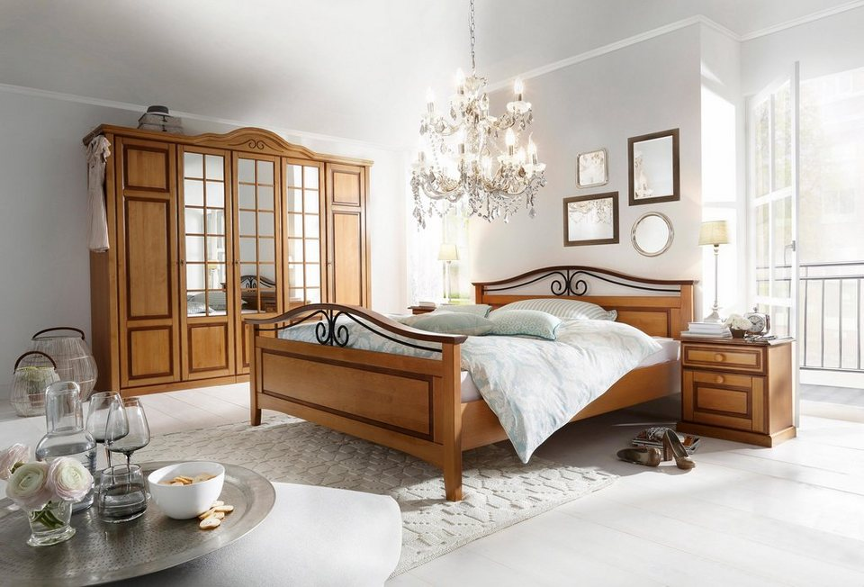 premium collection by home affaire schlafzimmer set carlo 4 tlg online kaufen otto. Black Bedroom Furniture Sets. Home Design Ideas