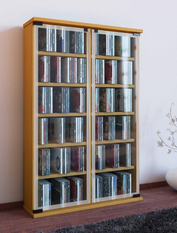 """VCM CD / DVD - Möbel """"Galerie"""" in Buche"""