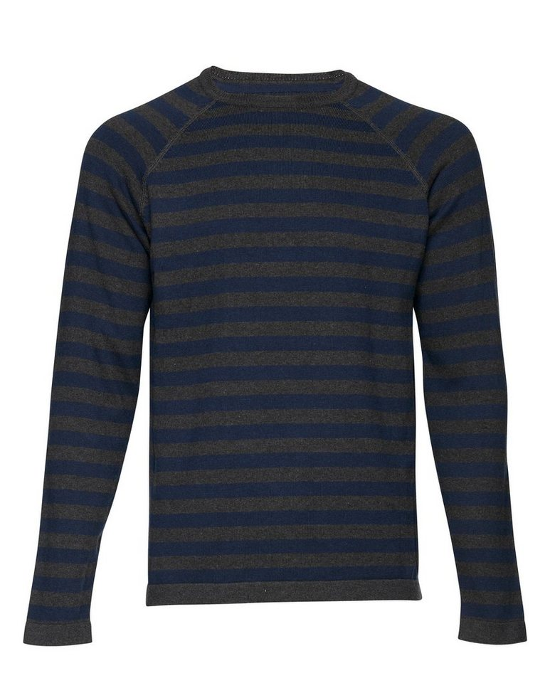 Casual Friday Pullover in Dunkel grau