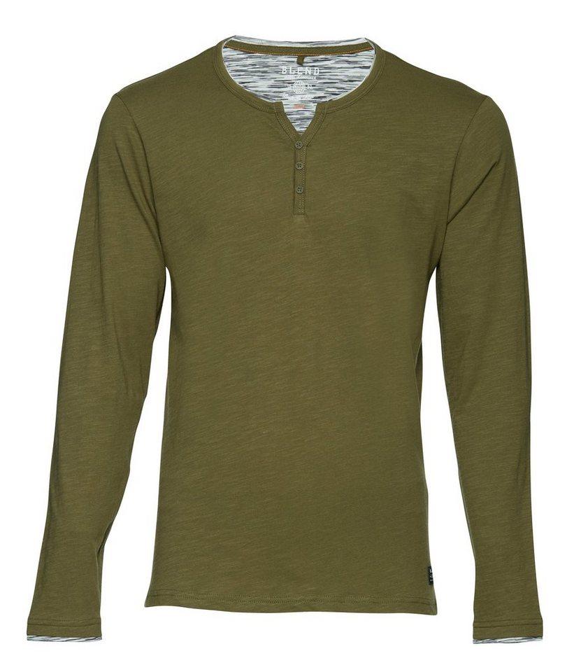 Blend Slim fit, schmale Form, T-Shirt in Grün