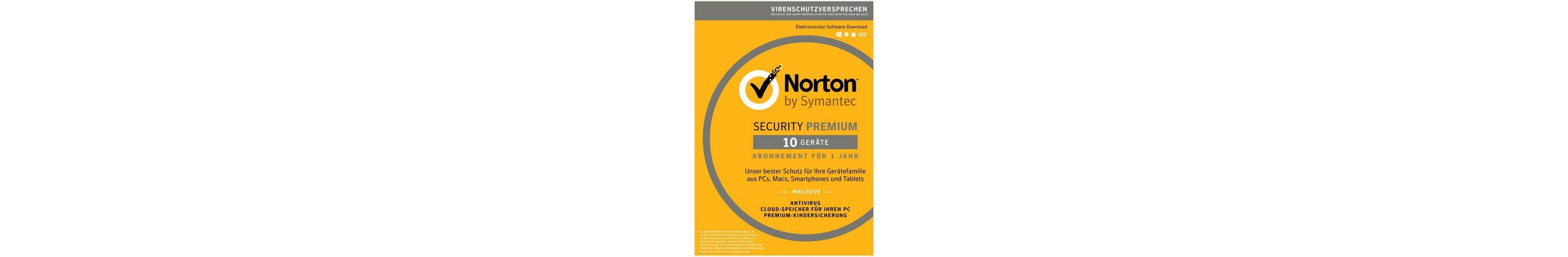 Norton Sicherheitssoftware »Security Premium (10 Benutzer)«