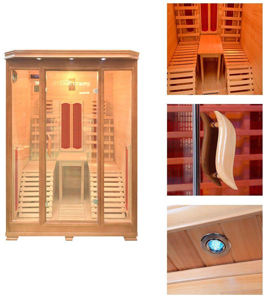 Home Deluxe Infrarotkabine »Maui«, 150/150/190 cm, 40 mm, für bis zu 2 Personen