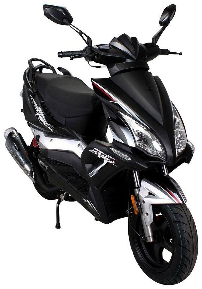 Motorroller »Matador«, 125 ccm, 85 km/h in schwarz