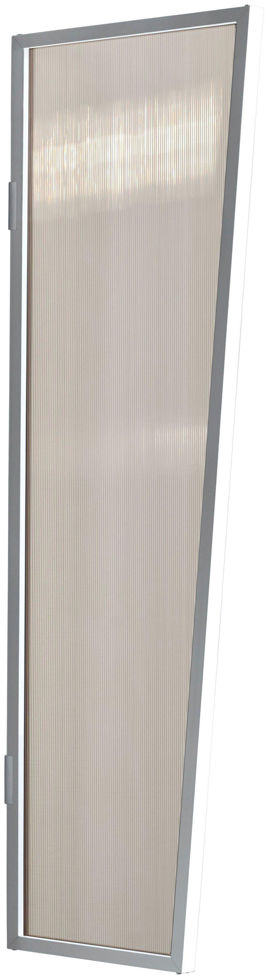 Seitenblende »B2 PC bronce«, BxH: 60x175 cm, weiß/braun