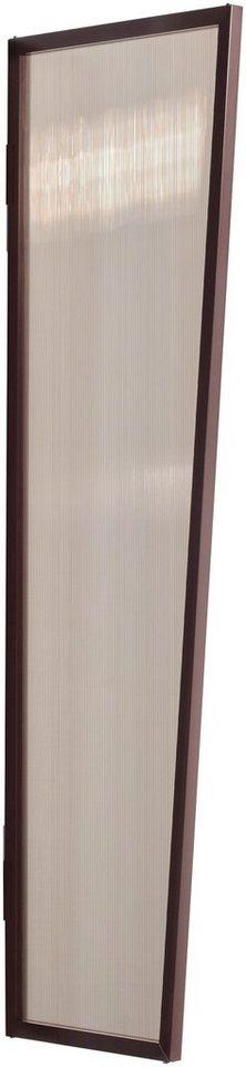 Seitenblende »B1 PC bronce«, BxH: 60x200 cm, braun in braun