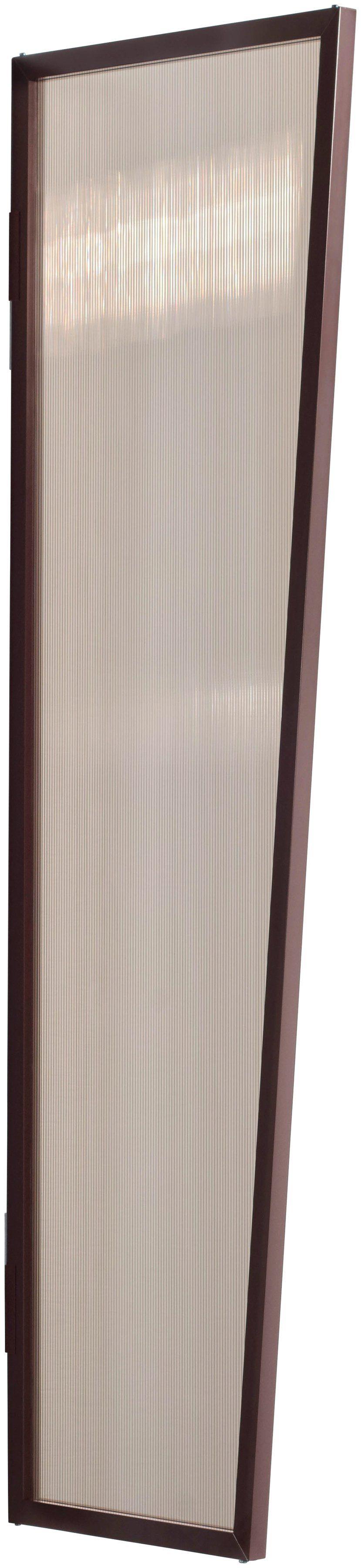 Gutta Seitenblende »B1 PC bronce«, BxH: 60x200 cm, braun