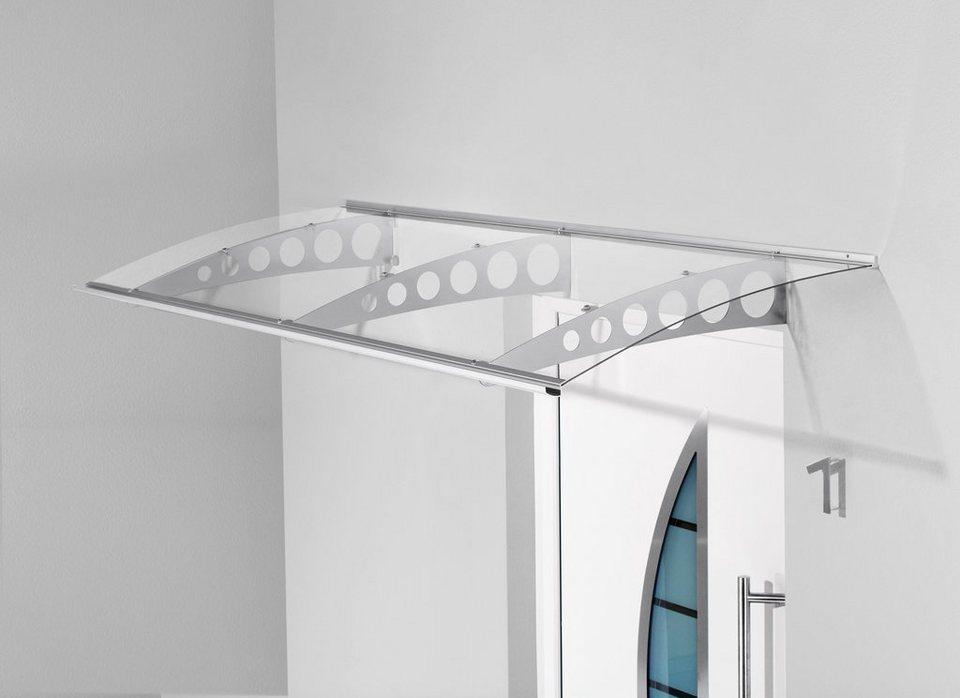 gutta pultvordach pt et 200x90x22 5 cm silberfarben transparent online kaufen otto. Black Bedroom Furniture Sets. Home Design Ideas