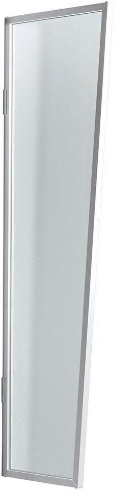 Seitenblende »B1 Acryl«, BxH: 60x200 cm, weiß/transparent in weiß
