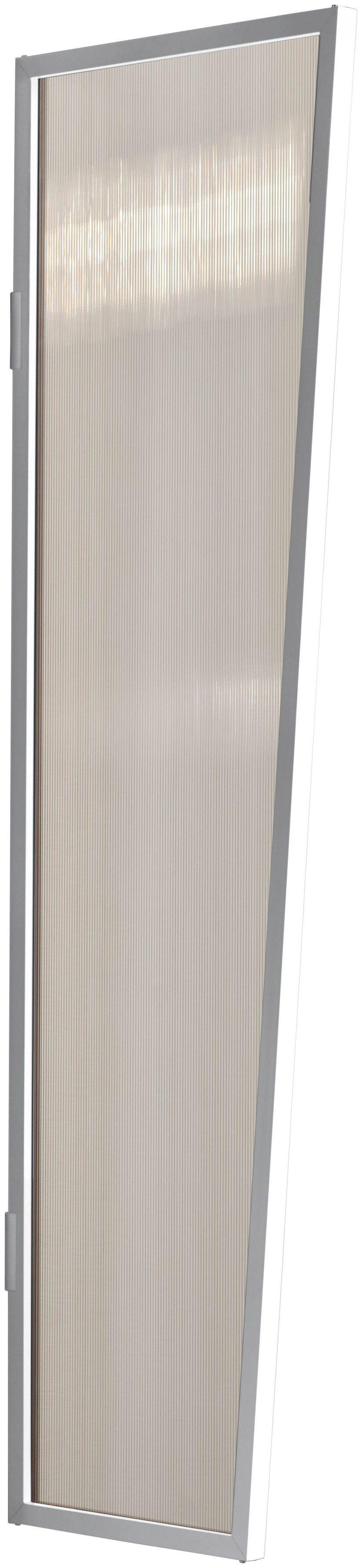 Seitenblende »B1 PC bronce«, BxH: 60x200 cm, weiß/braun