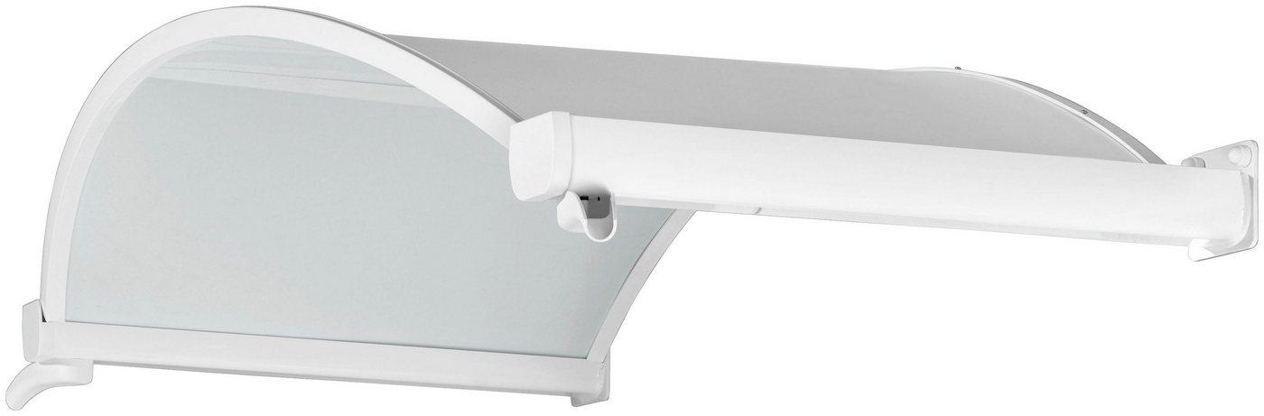 Gutta Vordach »TYP OV/B«, 160x90x30 cm, opak | Baumarkt > Modernisieren und Baün > Vordächer | Weiß | GUTTA