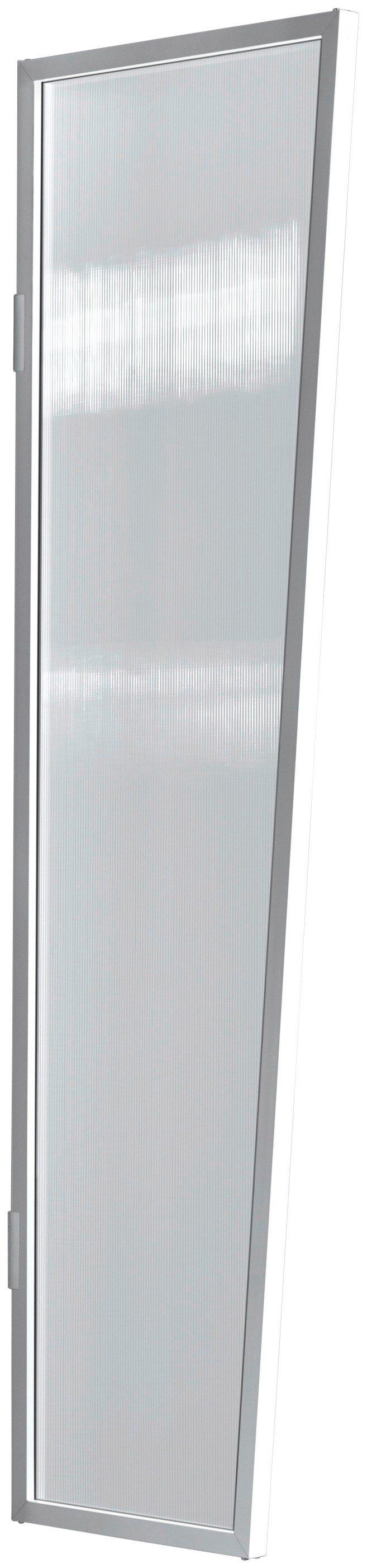Seitenblende »B1 PC klar«, BxH: 60x200 cm, weiß/transparent