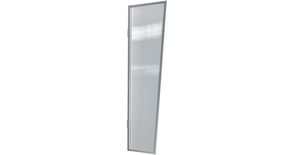 Seitenblende »B2 PC klar«, BxH: 60x175 cm, weiß/transparent