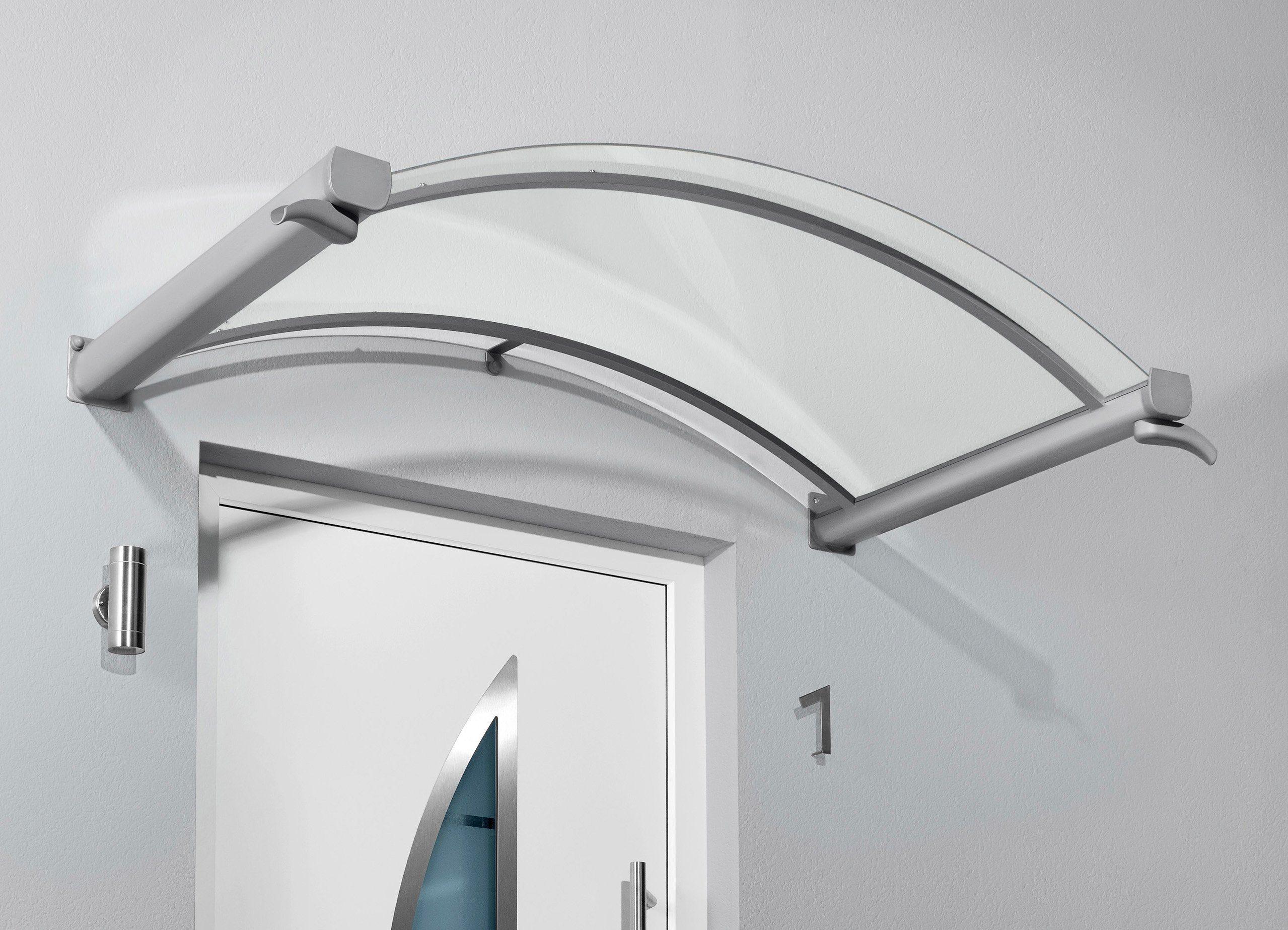 Gutta Bogenvordach »TYP BV/B«, 200x90x25 cm, silberfarben-transparent