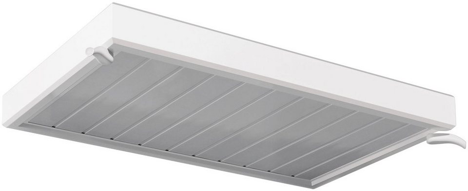 Vordach »TYP NM«, 150x90x14 cm, weiß in weiß