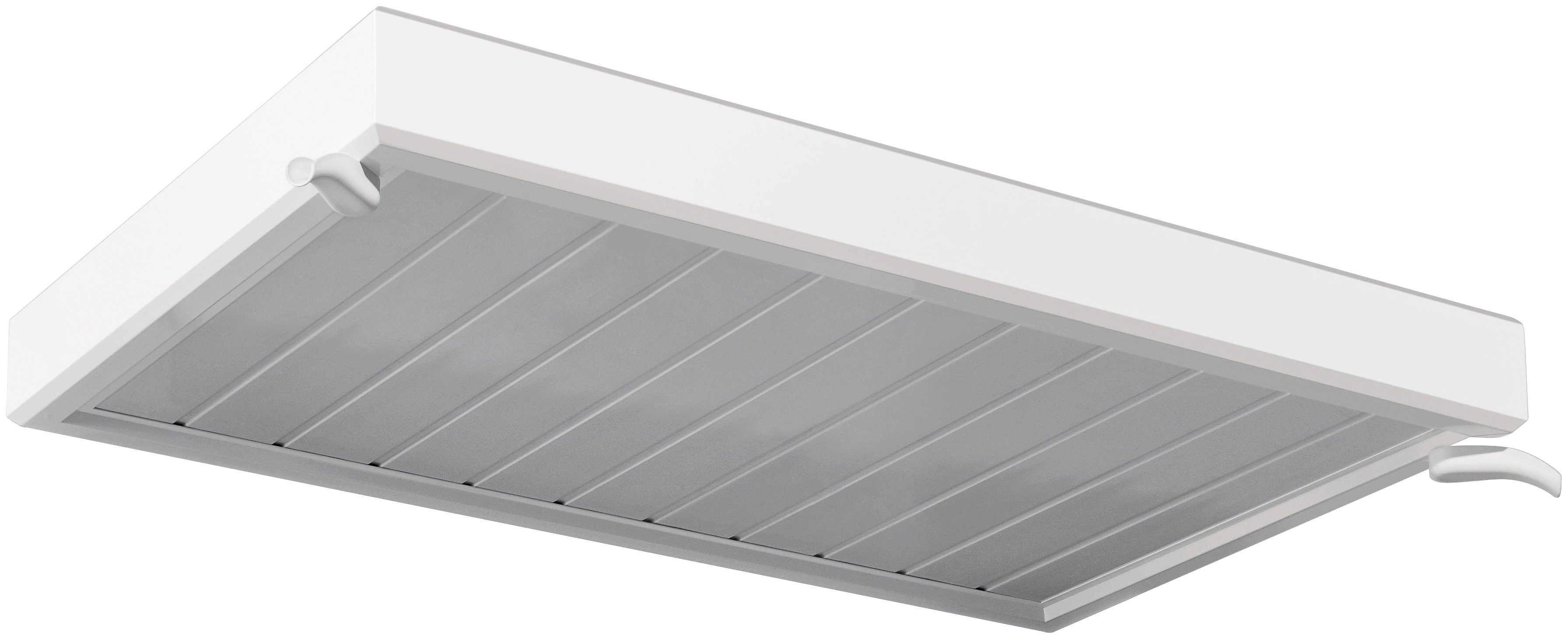 Vordach »TYP NM«, 150x90x14 cm, weiß