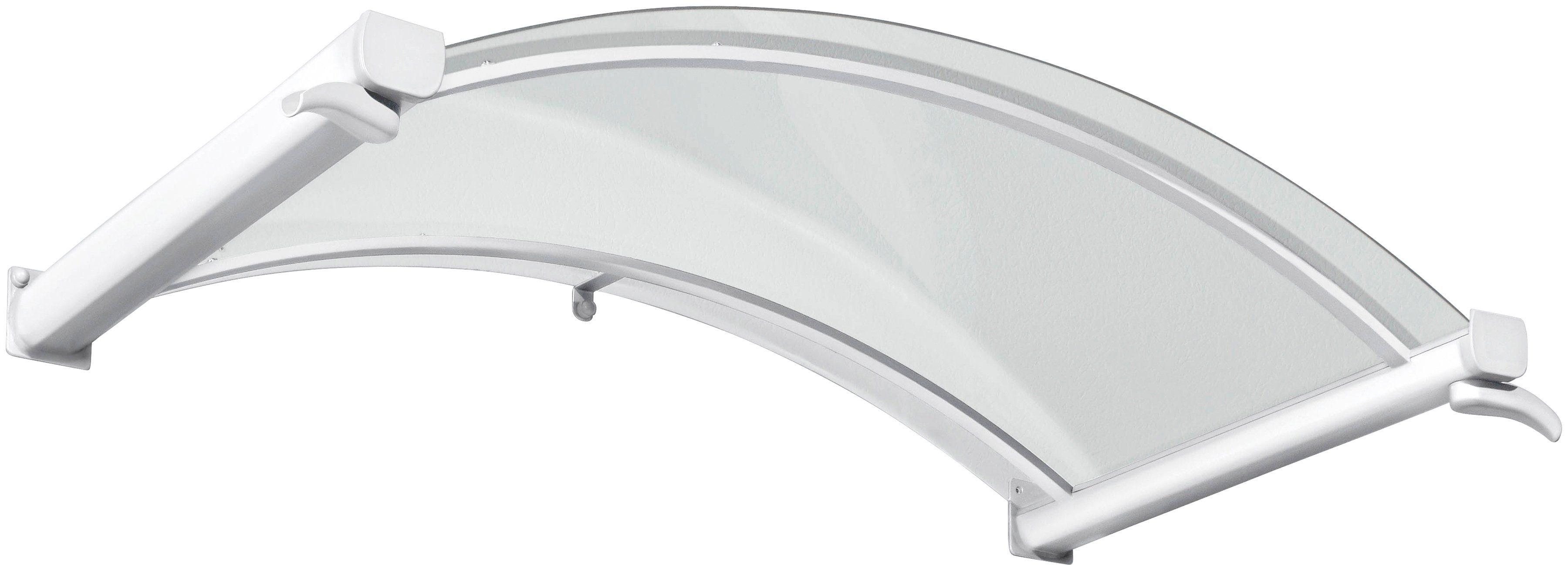 Gutta Bogenvordach »TYP BV/B«, 160x90x30 cm, weiß-transparent