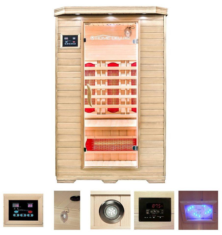 Home Deluxe Infrarotkabine Redsun M 120105190 Cm 40 Mm Für