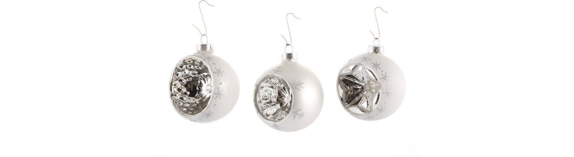 Inge´s Christmas Decor Reflexkugel, 3-tlg.